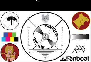 Bobcat-Head Test Pattern