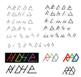Triforce Font Prototype