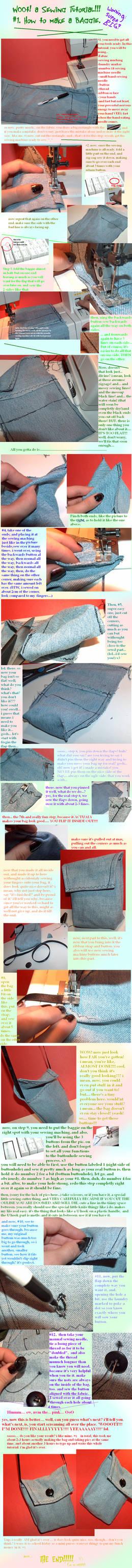 big sewing tutorial
