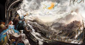 dovah'kiin and his cronicler