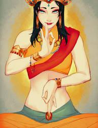 Bodhisattva by EvaBeeSmith
