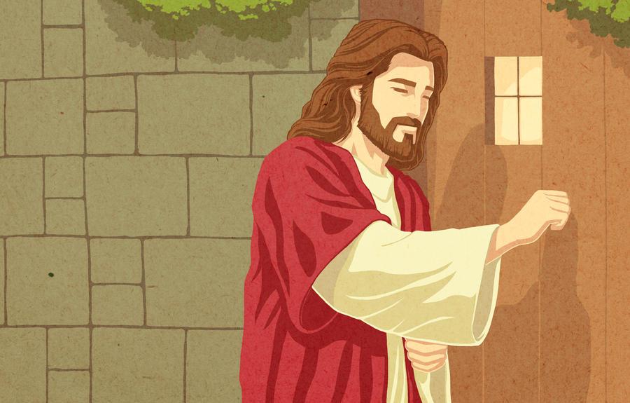 Jesus Knocks at the Door of Your Heart by jonah-onix ... & Jesus Knocks at the Door of Your Heart by jonah-onix on DeviantArt