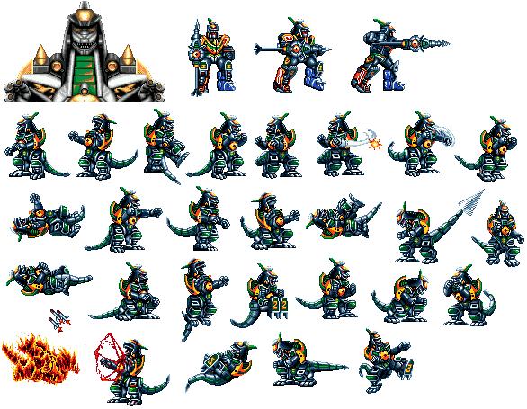 CvS: Green Ranger Dragonzord_sprite_by_optimus11455-d3cdjrs