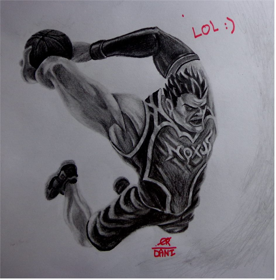 League Of Legends Drawing Champions Darius By Danifiras On