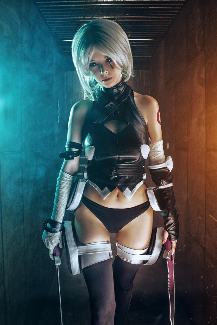 Fate/Apocrypha - Jack the Ripper cosplay by Disharmonica