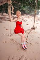 Saber Nero Summer Dress by Disharmonica