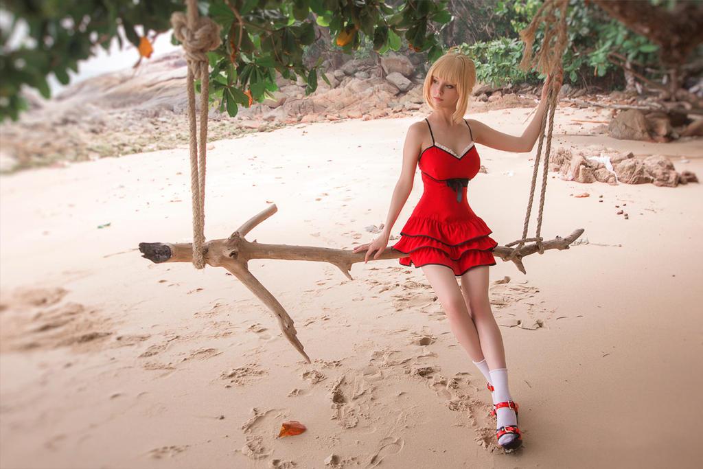 Saber Nero Summer Dress