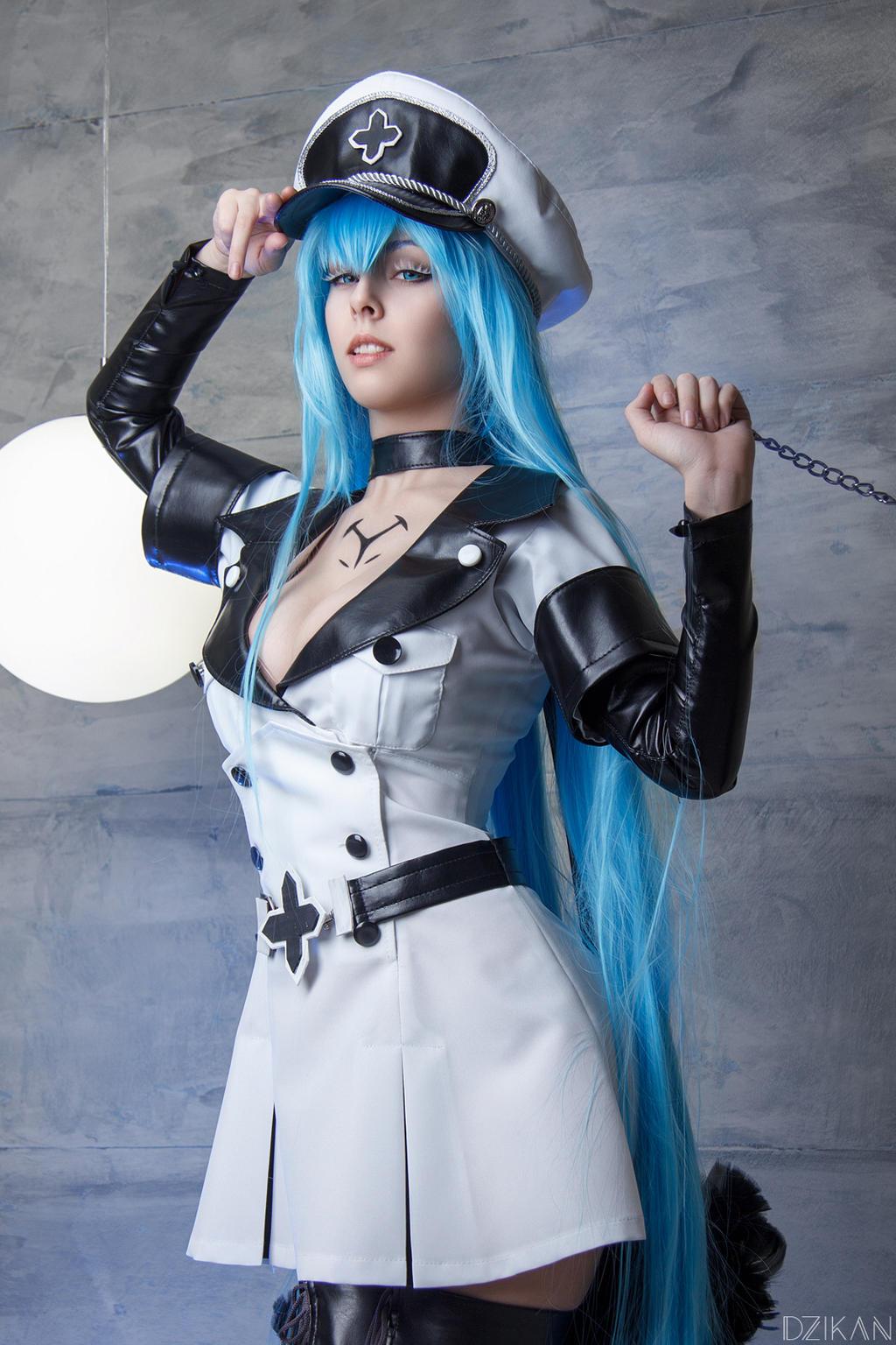 Akame ga KILL Esdeath Cosplay Costume - CosplayFTW
