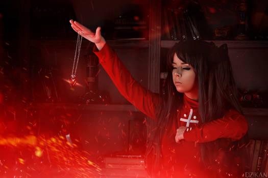 Fate/Stay Night - Rin Tohsaka cosplay