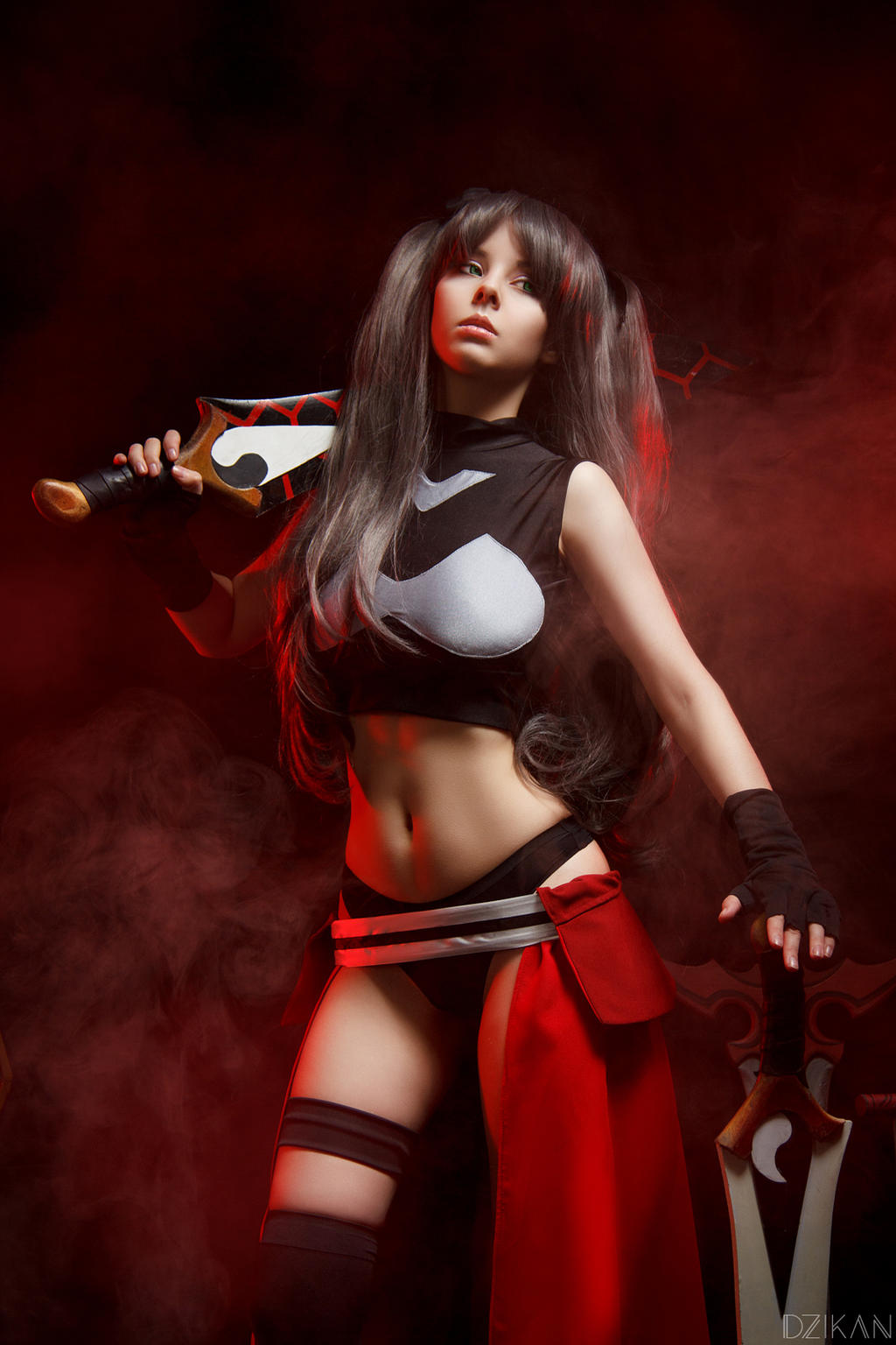 Fate/Stay Night - Rin Tohsaka (Archer ver) cosplay