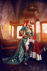 The Witcher 3 - Triss Merigold cosplay