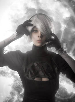NieR: Automata -YoRHa No.2 Type B (aka 2B) cosplay