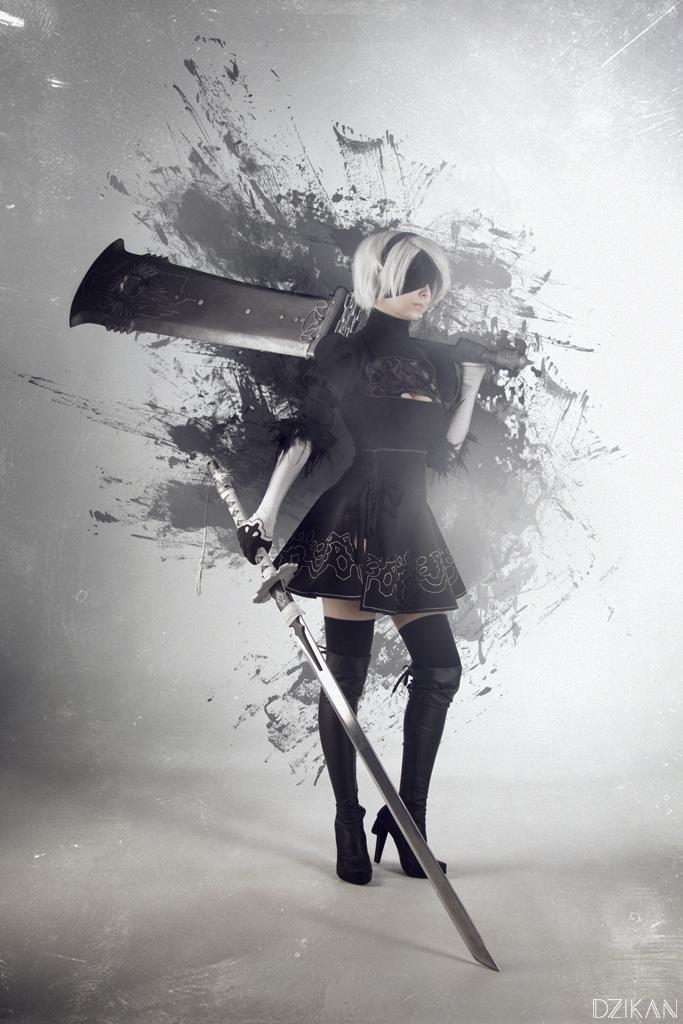 NieR: Automata -YoRHa No.2 Type B (aka 2B) cosplay by