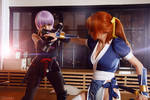 Dead Or Alive 5 - Kasumi and Ayane Cosplay