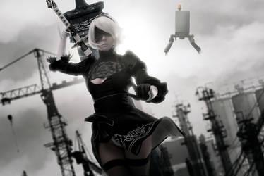 NieR: Automata - 2B cosplay