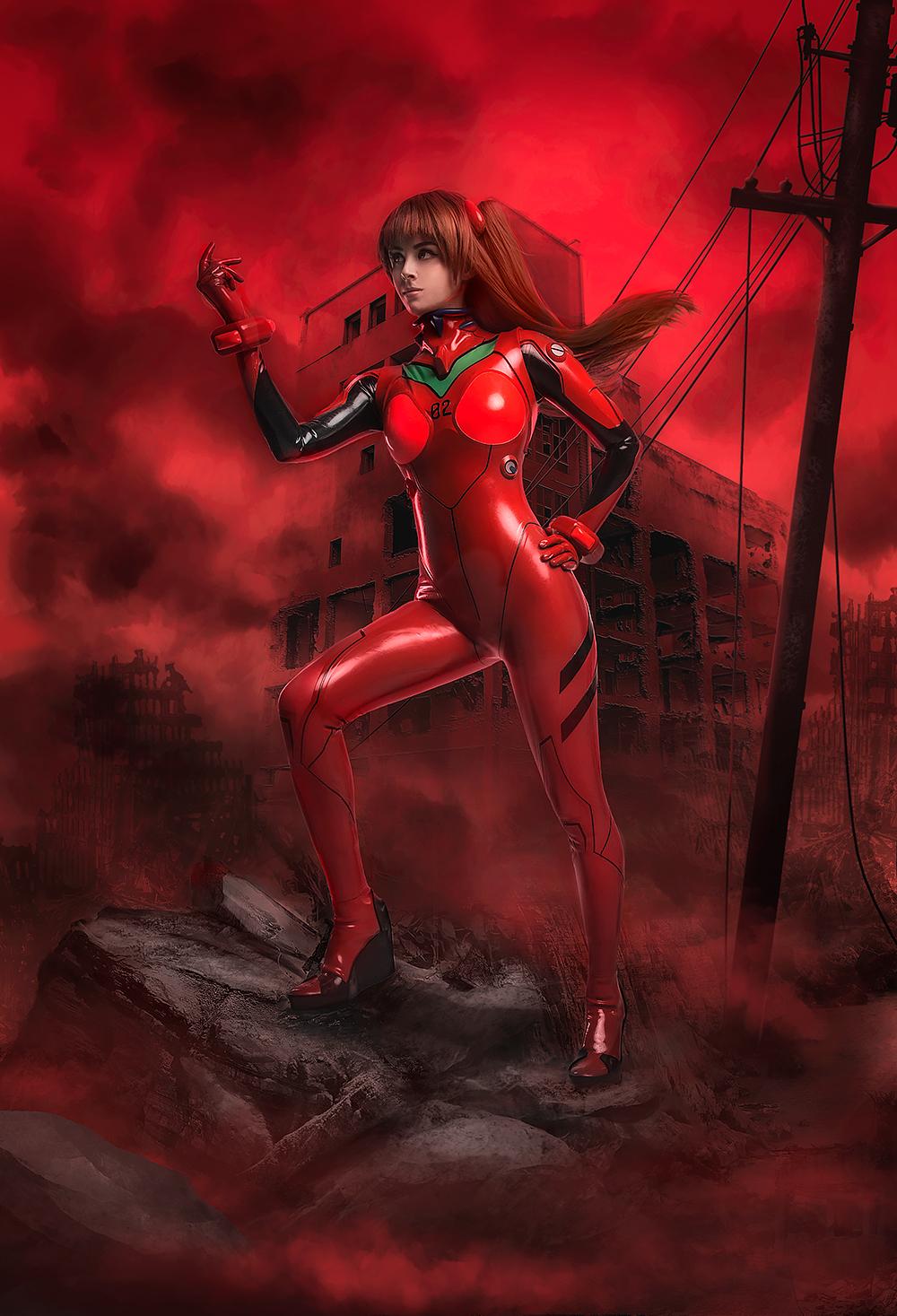 Neon Genesis Evangelion - Asuka Langley cosplay by Disharmonica