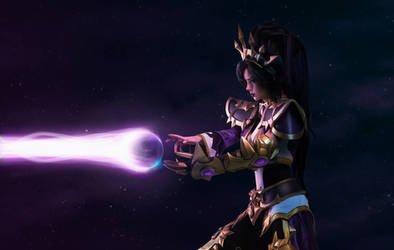 Diablo 3/Heroes of the Storm - Li-Ming cosplay