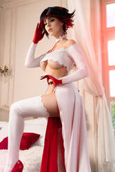 Kill la Kill - Bride Ryuko cosplay