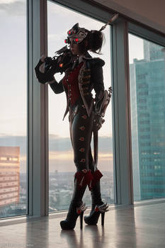 Cosplay Widowmaker Huntress