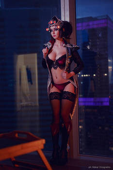 Cosplay Widowmaker Huntress