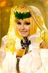 Cosplay Saber Bride by Disharmonica