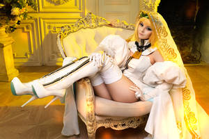 Cosplay Saber Bride by Disharmonica