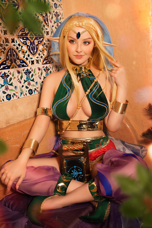 Cosplay Zelda (Gerudo outfit inspired)