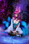 Cosplay Ahri Spirit Blossom by Disharmonica