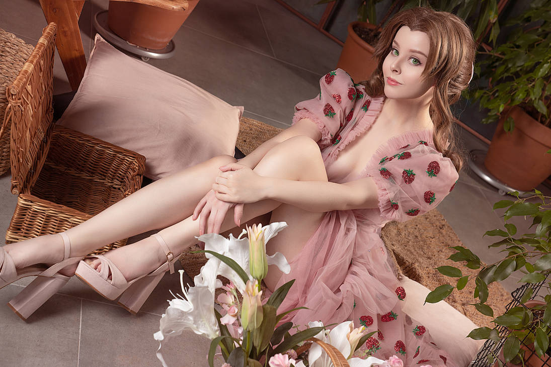 Cosplay Aerith
