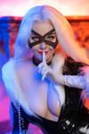 Cosplay Black Cat by Disharmonica