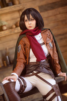 Cosplay Mikasa