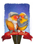 Warmest Wishes - HOLIDAY CARD