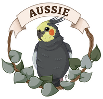 COMMISSION: Aussie by Brushfeather