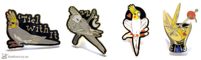 The Tiel With It Pin Set
