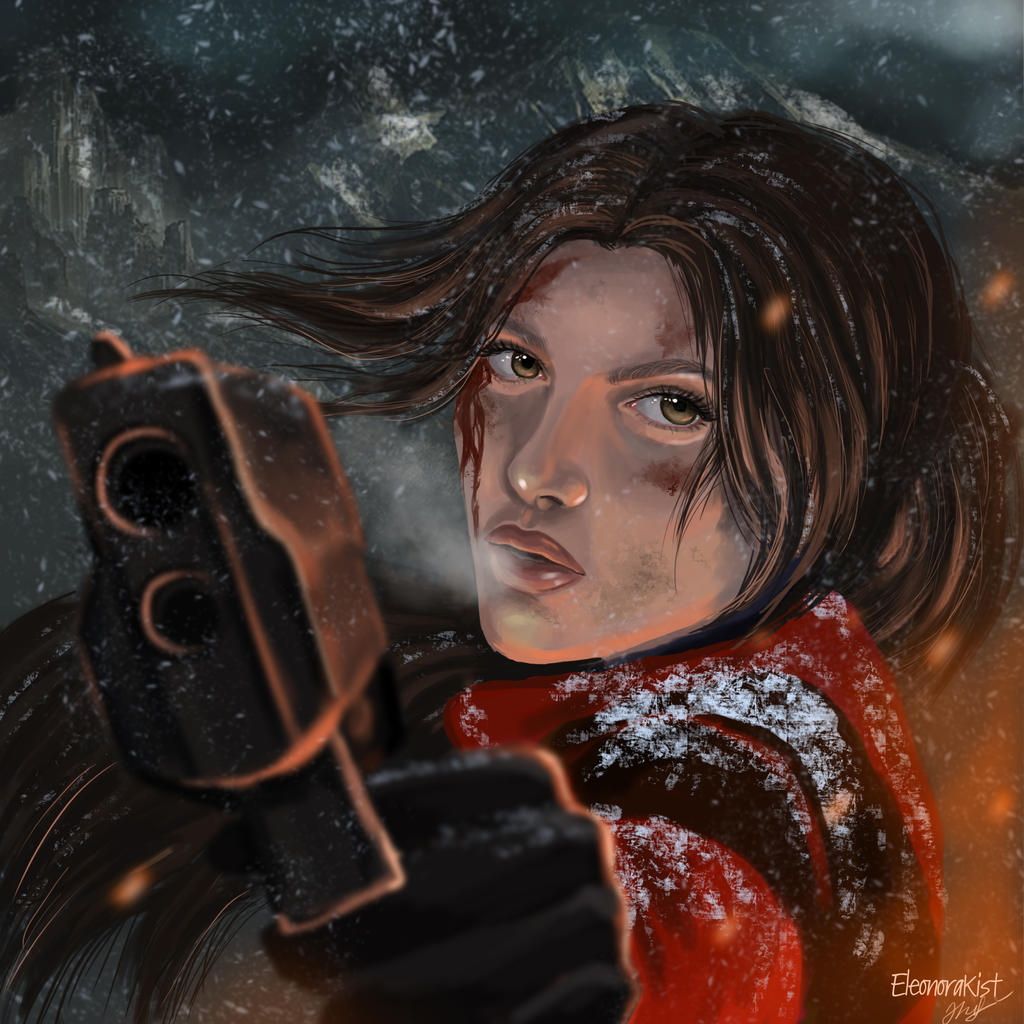 The Rise Of Tomb Raider Wallpaper: Rise Of The Tomb Raider By Elloki On DeviantArt