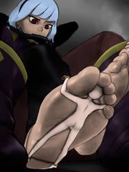 Orphea's Foot Slave by GigaBaka