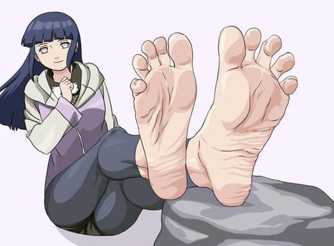 Hinata Foot Tease