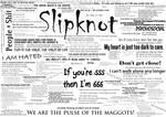 Slipknot Typography