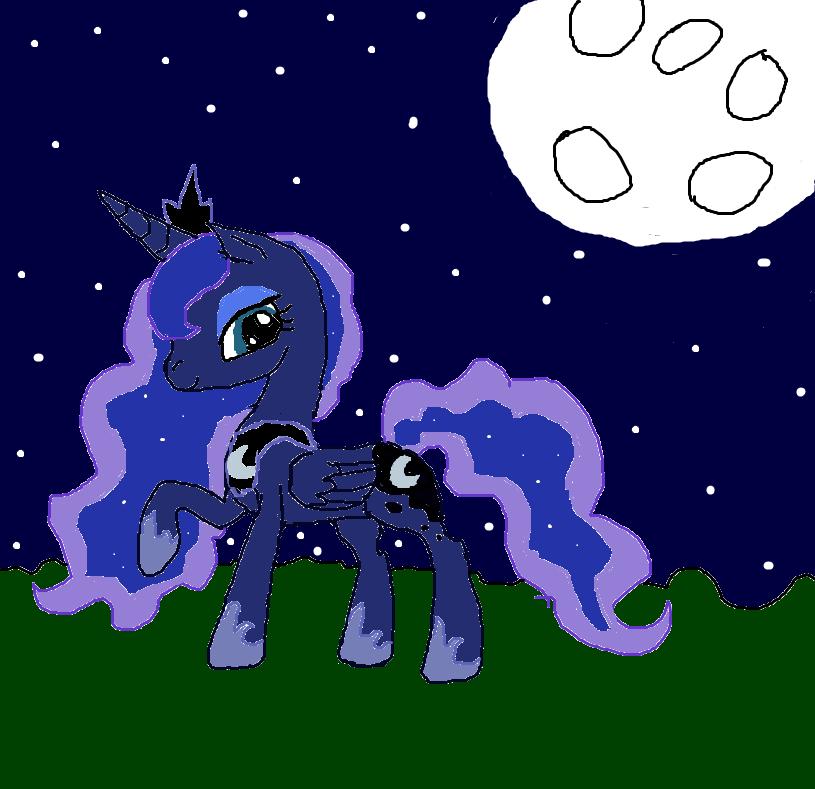 Mlp Pregnant Luna Princess luna by cynder45667