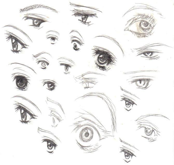 Eye Study by Luzille