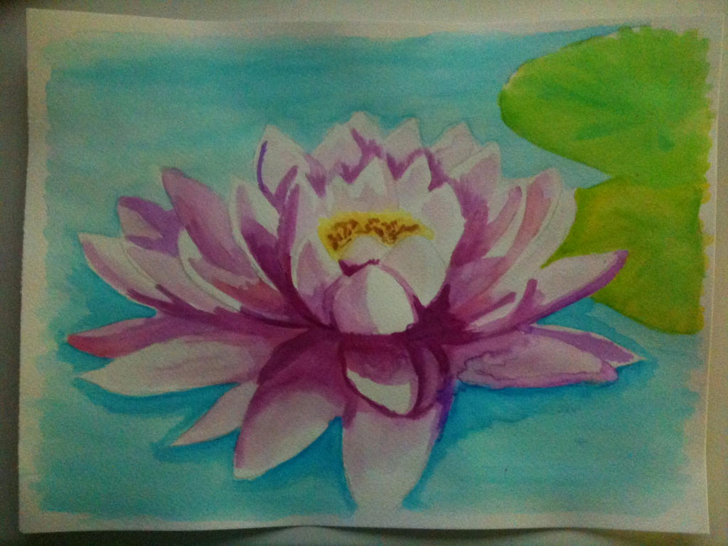 Lotus Completed (I Think) by KatarinaDelgado