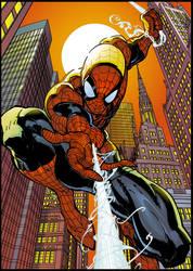 Comic art 03-Spiderman by buffman