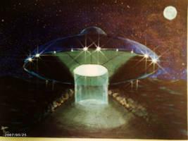 ufo sighting by SteevDragon