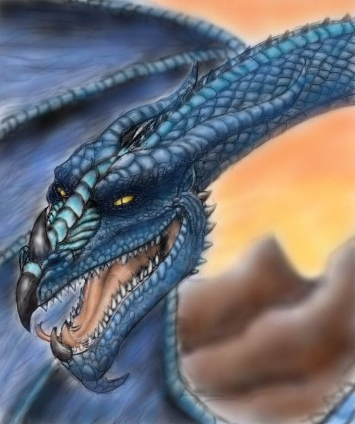 Very Cool Dragon Color By Steevdragon On Deviantart