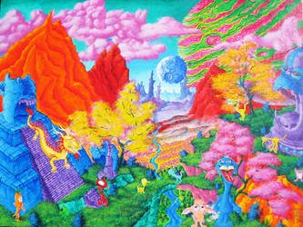Fantasy World 22 by SteevDragon