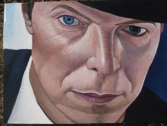 David Bowie by SteevDragon