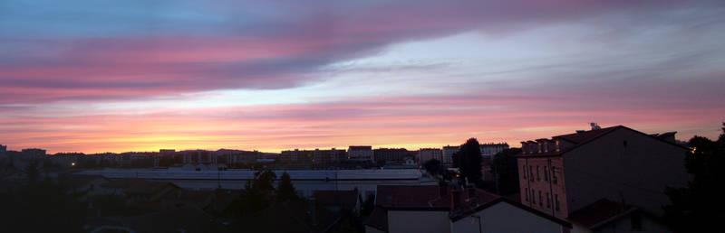 June Sky at dusk