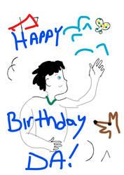 Inkeddeviantart-17-birthday-template LI by BadCowboy69