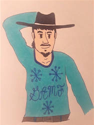 Travis' Ugly Sweater 2018 by BadCowboy69
