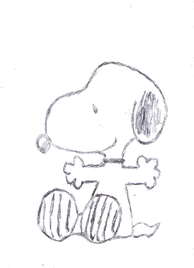 How to draw easterandsnoopy